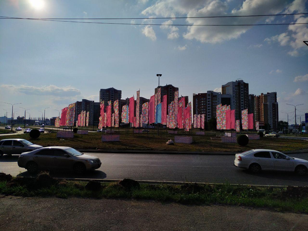 Радужные флаги в Оренбурге